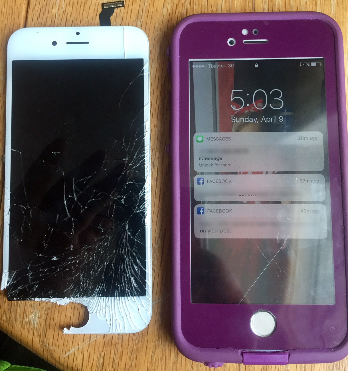 IPhone 6 screen change