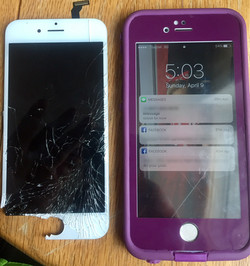 IPhone 6 screen change