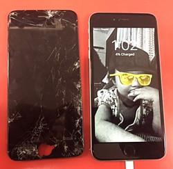 IPhone 6 plus screen change