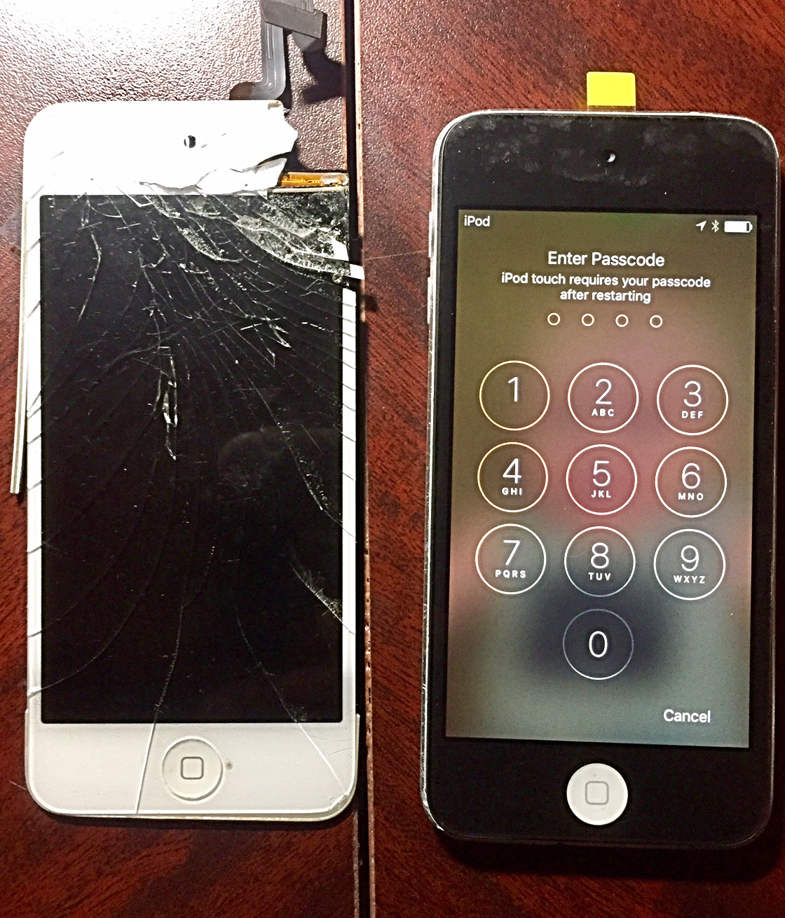 IPod Touch 5th Gen. Screen Change