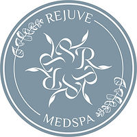 Rejuv Medspa product label (white words,