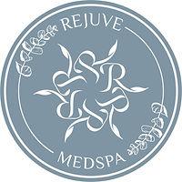 Rejuv Medspa product label (white words,