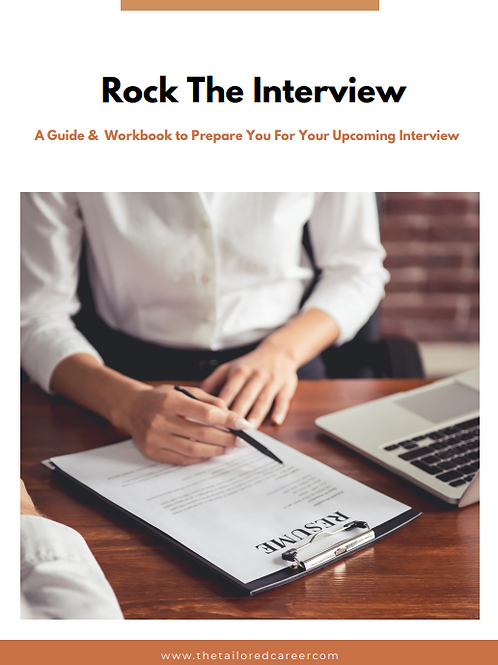 Rock The Interview Guide & Workbook