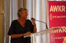 Wendy Tuck - guest speaker ahead of the