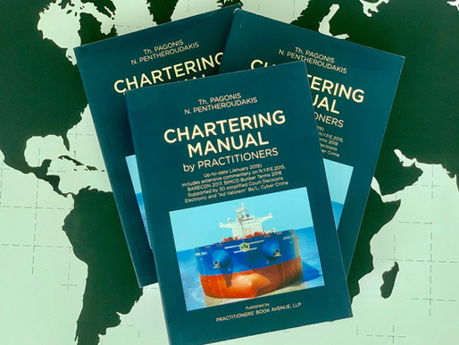 John Faraclas: 'Chartering Manual' makes a big splash