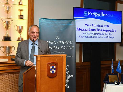 """Αλέξανδρος Διακόπουλος, Αντιναύαρχος ΠΝ (ε.α.): """"Τον σεβασμό πρέπει να τον κερδίσεις..."""""""