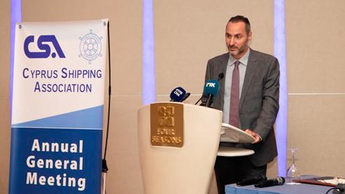 """Φ. Κωστόπουλος, Πρόεδρος Δ.Ν.Ε.: """"επιτακτική η ανάγκη να συσπειρωθούμε ως ναυτιλιακοί πράκτορες"""""""