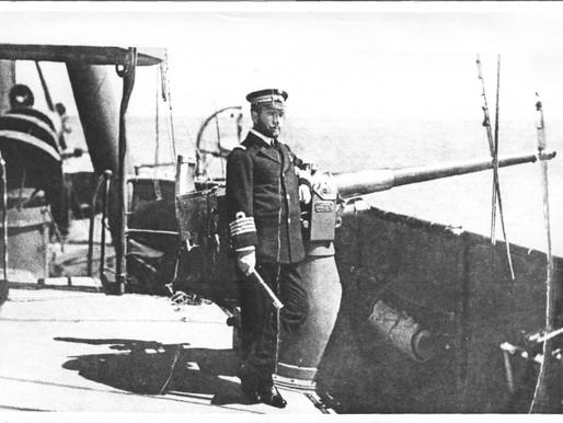 """Αρχιπλοίαρχος ΠΝ (ε.α.) Λεωνίδας Τσιαντούλας:                     Το ξεχασμένο πυροβόλο του """"Αβέρωφ"""""""