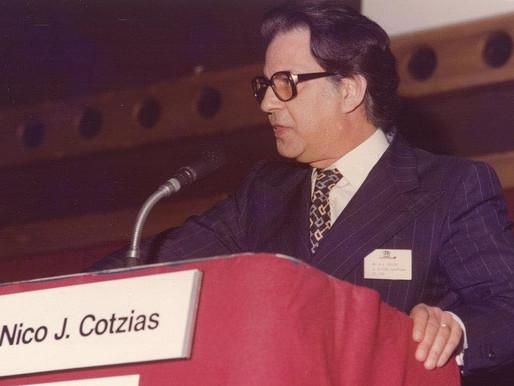 In memoriam: NICO J. COTZIAS OBE 1928 - 2009