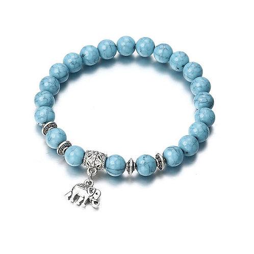 Classic Blue Beaded Bracelets For Men, Women Boy, And Girl