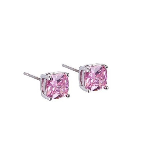 Women's Fashion 925 Sterling Silver Mystic Rainbow Topaz Gemstone Earrings