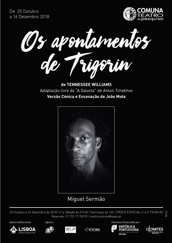 Dois palcos de actor: Miguel Sermão entre Cervantes e Tennessee Williams