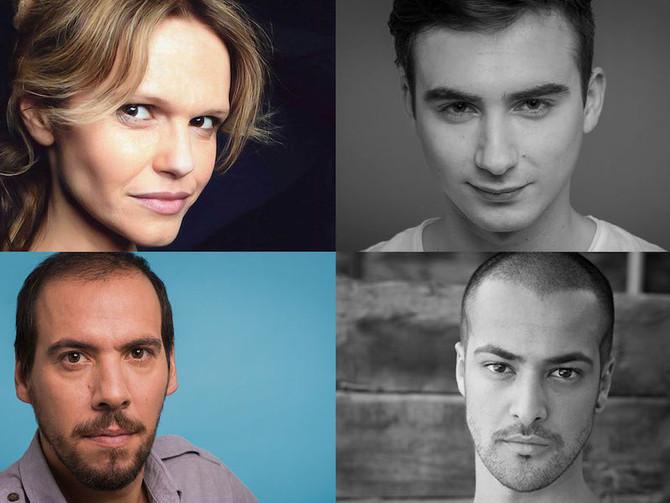 Catarina Leiria, Rui Raposo, Flávio Gil e Ruben Pêro integram elenco adicional da mais recente produ