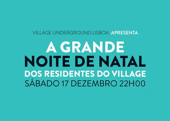 A grande Noite de Natal dos Residentes do Village