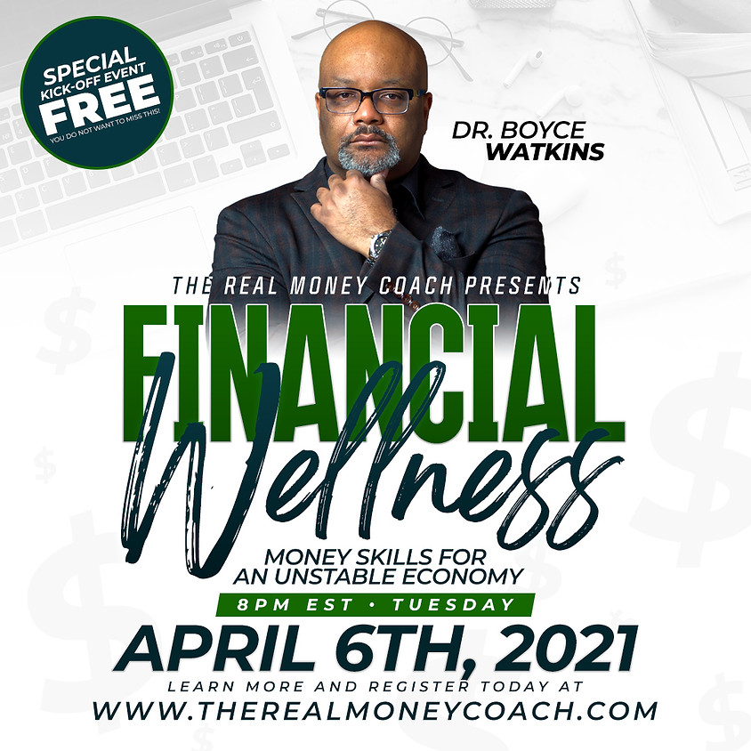 FREE Kickoff Event with Dr. Boyce Watkins
