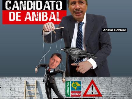 A través de la candidatura de 'Chember', Aníbal Roblero pretende seguir robando a Bella Vista
