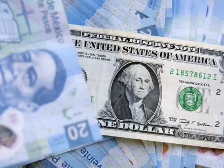 Dólar por debajo de los 20 pesos, gracias a vacunas contra Covid-19