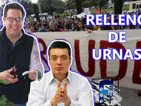 """Huellas de FRAUDE en Chiapas: a Juan Salvador Camacho Velasco le """"llenaron las urnas"""""""