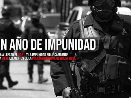 Un año de impunidad para delincuentes de Bella Vista