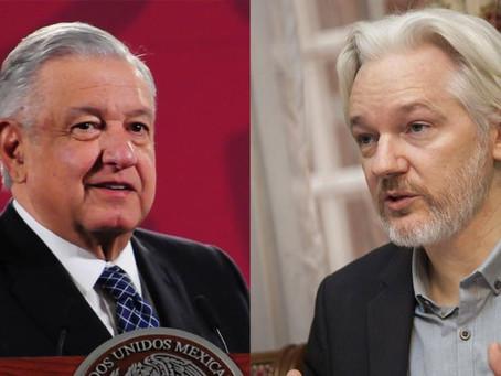 México ofrecerá asilo político a Julian Assange, fundador de WikiLeaks: AMLO