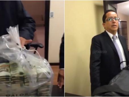 Difunden video de presunto soborno en el que aparecen exfuncionarios ligados al PAN