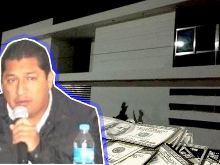 """La """"Casa Blanca"""" de Trinitaria: evidencia de la CORRUPCIÓN de la familia Pulido en la presidencia"""