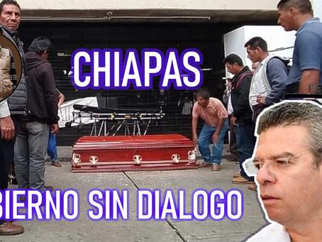 El diálogo no existe: grupos paramilitares y entrevistas a modo en Chiapas