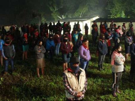 EZLN realizó en Chiapas manifestaciones en memoria del activista Samir Flores
