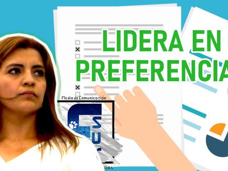 Magaly Guillén lidera en las preferencias electorales de los comitecos: Encuesta Fsur