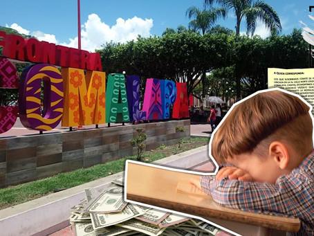 "Manejan DINERO de forma discrecional, responde periodista sobre primaria ""moches"" de Comalapa"