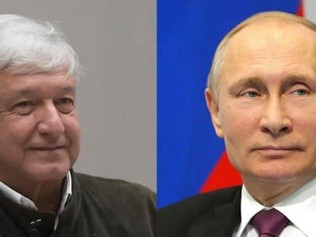 AMLO acordó vía telefónica con Putin pronto acceso a vacuna Sputnik V