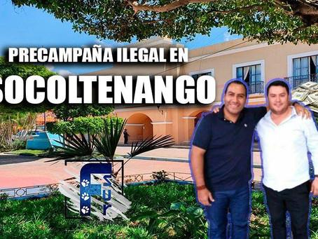 Juan Carlos Morales inicia ilegal precampaña para la alcaldía de Socoltenango