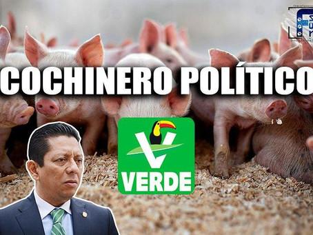 Llaven Abarca es operador del PVEM; a su sombra hay un enorme cochinero político