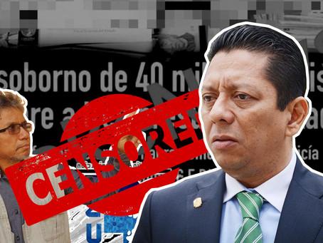 Fiscalía inicia campaña de desprestigio contra periodista por denunciar sobornos