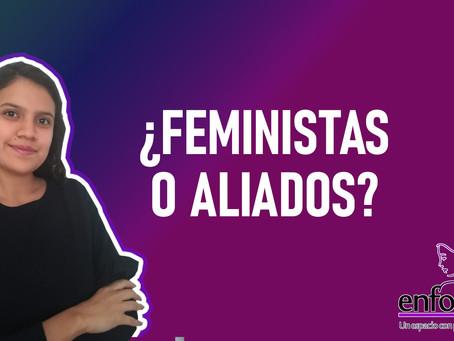 ¿Hay que excluir a los hombres del feminismo?