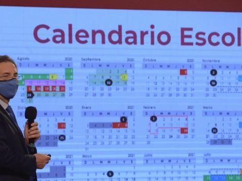 """La SEP presenta el calendario escolar con 190 días de clases y 9 """"puentes"""""""