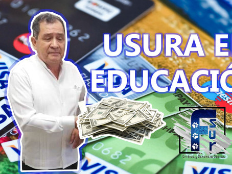 Subsecretario de Educación cobra intereses predatorios a maestros chiapanecos