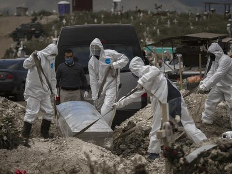 Suman 40 mil 186 casos confirmados y 4 mil 220 defunciones por COVID-19 en México