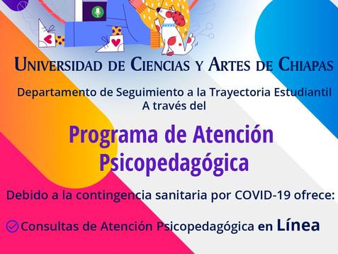 Brinda UNICACH atención psicopedagógica a sus estudiantes