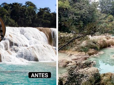 La historia detrás de la sequía de Agua Azul: desplazamiento indígena y conflictos sociales