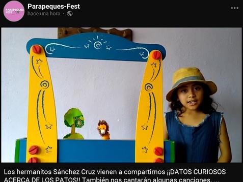 Alumnos de UNICACH realizan festival virtual infantil