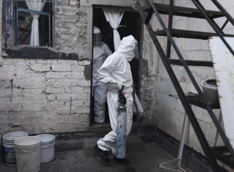 México acumula más de 124 mil contagios y 14,649 decesos por Covid-19