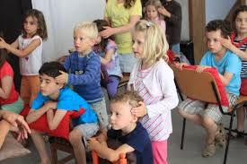 Massage à l'école