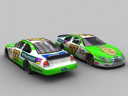 FFA race car, Baker Curb Racing