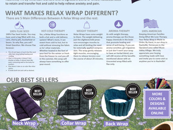 Relax Wraps: Making Moves In Pain & Anxiety Relief In Nashville - RelaxWraps.com