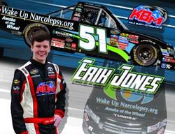 Erik Jones, pro NASCAR driver