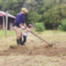 Farmer John trains up the next generation.