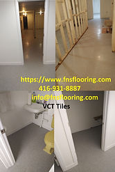 VCT - Vinyl Composite Tiles Installation