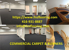Commercial Carpet Installation and Carpet Stair Runners