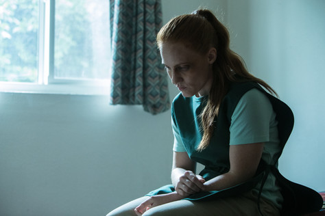 """Shannon Murray (Nora) thinks about her life during """"Rag Doll"""""""